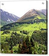 Alaska Scenery II Acrylic Print