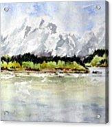 Alaska Solitude Acrylic Print