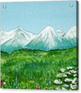 Alaska Splendor Acrylic Print