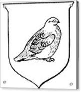 Alaska: State Bird Acrylic Print