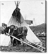 Alaska: Tepee, C1916 Acrylic Print