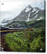 Alaska Train Acrylic Print