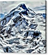 Alaska Volcano Acrylic Print