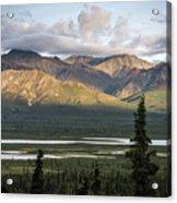 Alaskan Glacial Valley Acrylic Print
