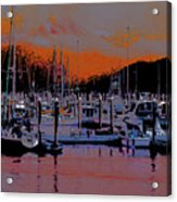 Alaskan Harbor 8 Acrylic Print