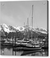 Alaskan Harbor Acrylic Print