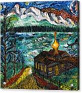 Alaskan Orthodox Church Acrylic Print