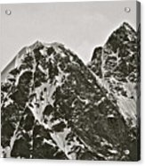 Alaskan Peaks Acrylic Print