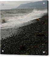 Alaskan Rock Beach Acrylic Print