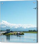 Alaskan Seaplane Base Acrylic Print