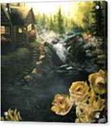 Alaskan Summer Day Acrylic Print
