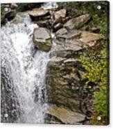 Alaskan Water Fall Acrylic Print