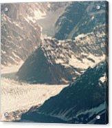 Alasks Glacier Range Denali Nation Park  Acrylic Print