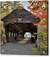 Albany Covered Bridge Acrylic Print