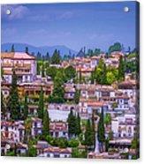 Albayzin View Granada Acrylic Print