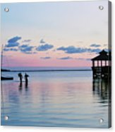 Outer Banks,nc,sunset Acrylic Print