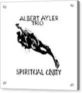 Albert Ayler Trio Acrylic Print