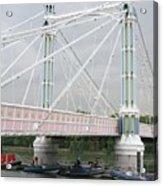 Albert Bridge Acrylic Print