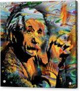 Albert Einstein - By Prar Acrylic Print