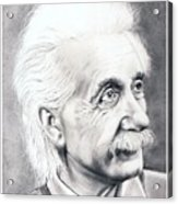 Albert Einstein  Acrylic Print