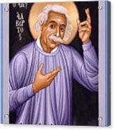 Albert Einstein  Scientist, Humanitarian, Mystic - Rlabe Acrylic Print