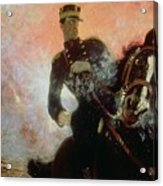 Albert I King Of The Belgians In The First World War Acrylic Print