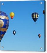 Albuquerque Balloon Festival 4 Acrylic Print