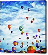 Albuquerque Blues Acrylic Print