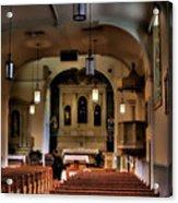 Albuquerque Church Acrylic Print