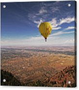 Albuquerque Flight Acrylic Print