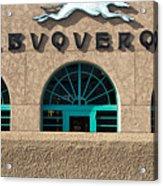 Albuquerque Hound Acrylic Print