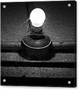 Alcatraz Bulb In Bw Acrylic Print
