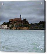 Alcatraz Storm Acrylic Print