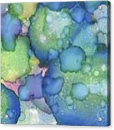 Alcohol Ink #2 Acrylic Print