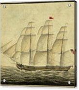 Alcono Sailing Vessel Acrylic Print