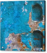 Alcoves In A Wall Acrylic Print
