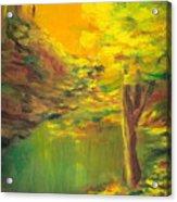 Aldergrove Lake Acrylic Print