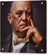 Aleister Crowley, Infamous Occultist Acrylic Print
