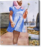 Alene June 14 1949 Acrylic Print
