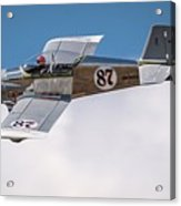 Alex Alverez Friday Morning At Reno Air Race Signature Edition 16x9 Aspect Acrylic Print