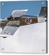 Alex Alverez Friday Morning At Reno Air Races 16x9 Aspect Acrylic Print
