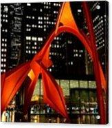 Alexander Calder's Flamingo Acrylic Print