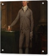Alexander Hamilton Full-length Portrait Acrylic Print