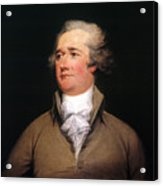 Alexander Hamilton Acrylic Print by Granger