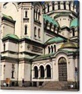 Alexander Nevsky Cathedral Acrylic Print