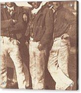 Alexander Rutherford, William Ramsay And John Linton Acrylic Print