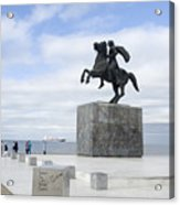 Alexander The Great, Thessaloniki, Greece Acrylic Print