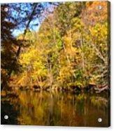 Alexandria Creek In The Fall Acrylic Print