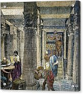 Alexandria: Library Acrylic Print