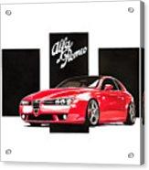 Alfa Romeo Brera Acrylic Print